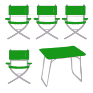 Campingmöbel-Set