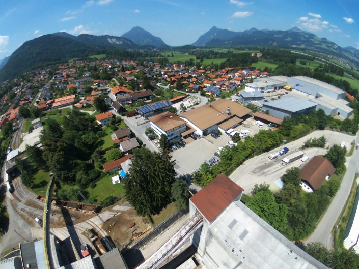 Luftaufnahme unseres Standortes in Kiefersfelden - 19