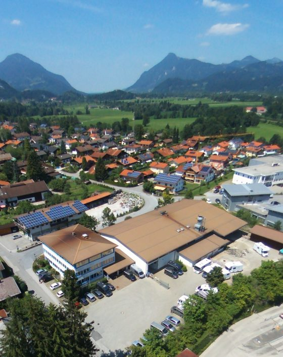 Luftaufnahme unseres Standortes in Kiefersfelden - 18