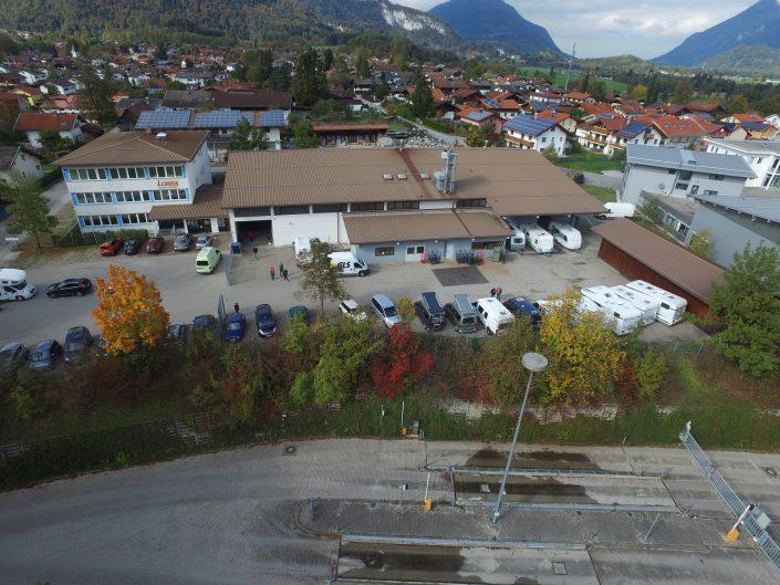 Luftaufnahme unseres Standortes in Kiefersfelden - 16