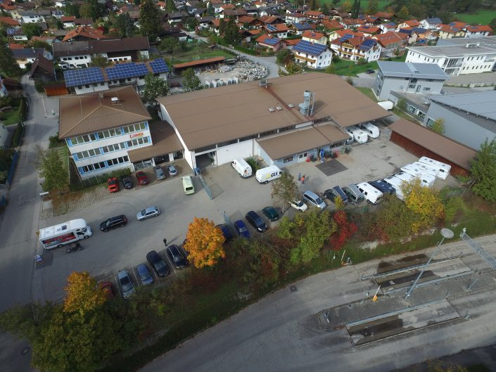 Luftaufnahme unseres Standortes in Kiefersfelden - 15