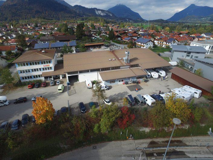 Luftaufnahme unseres Standortes in Kiefersfelden - 14