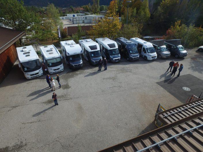 Luftaufnahme unseres Standortes in Kiefersfelden - 13