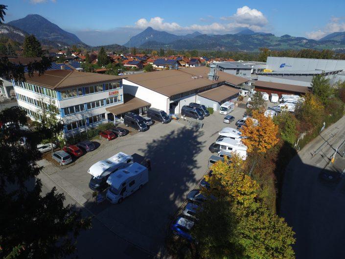 Luftaufnahme unseres Standortes in Kiefersfelden - 12