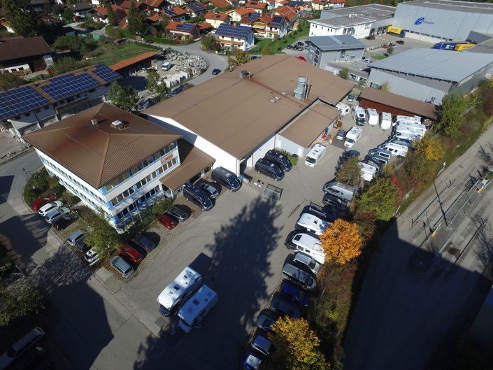 Luftaufnahme unseres Standortes in Kiefersfelden - 11
