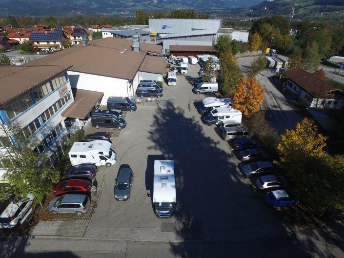 Luftaufnahme unseres Standortes in Kiefersfelden - 10