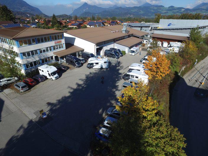 Luftaufnahme unseres Standortes in Kiefersfelden - 9
