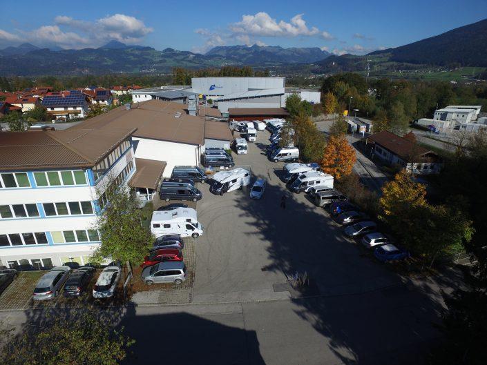 Luftaufnahme unseres Standortes in Kiefersfelden - 8