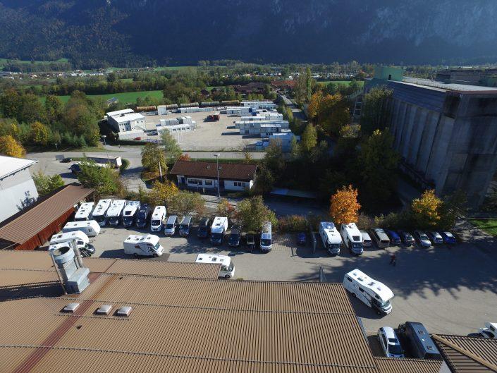 Luftaufnahme unseres Standortes in Kiefersfelden - 6
