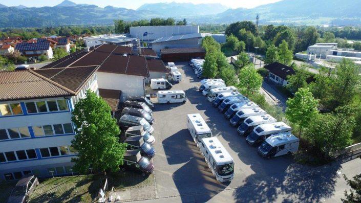 Luftaufnahme unseres Standortes in Kiefersfelden - 2