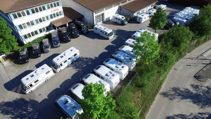 Luftaufnahme unseres Standortes in Kiefersfelden - 1