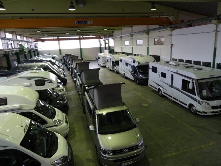 Unsere Fahrzeughalle in Kiefersfelden 4
