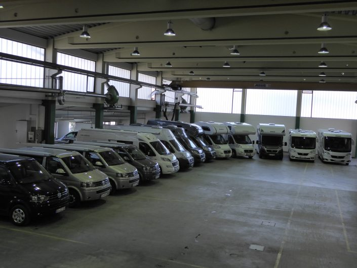 Unsere Fahrzeughalle in Kiefersfelden 3