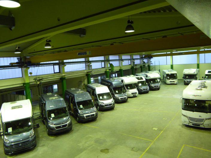 In Reih und Glied - Unsere Ferienmobile in Kiefersfelden