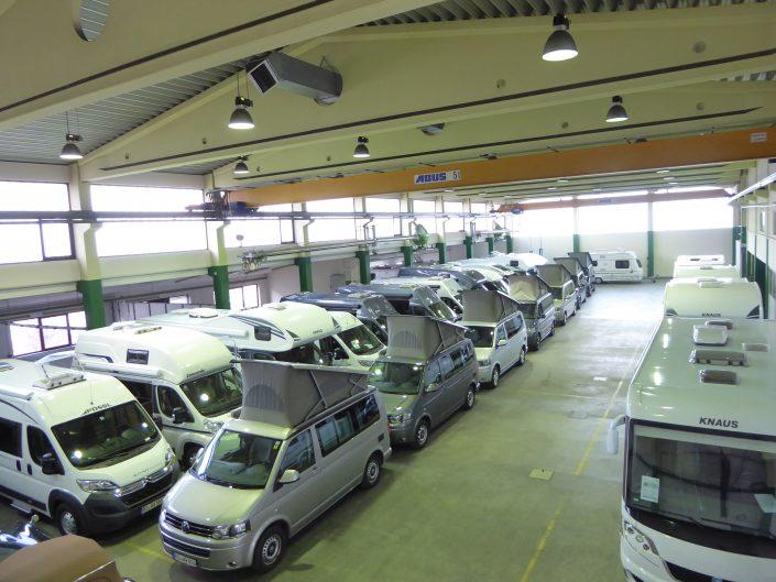 Unsere Fahrzeughalle in Kiefersfelden