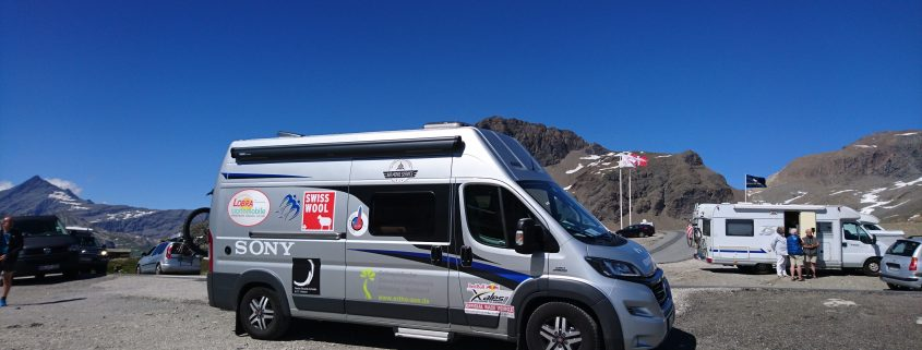 Red Bull X-Alps: Begleitfahrzeug für Sebastian Huber 2