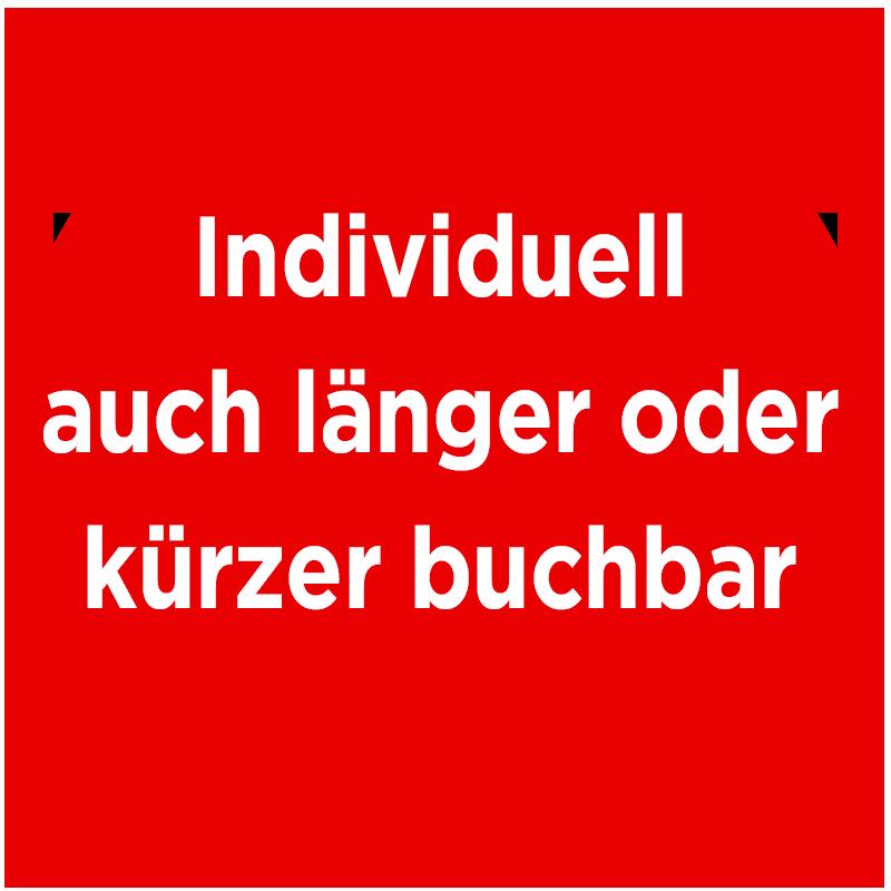Individuellauch länger oder kürzer buchbar